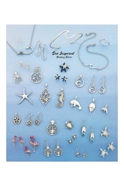 Presco Swarovski Seahorse Earrings - Product Mini Image