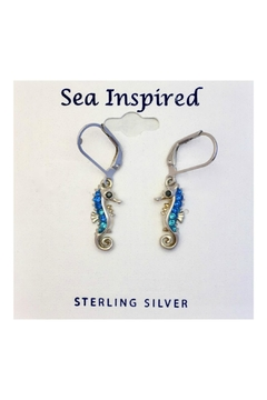 Soap and Water Newport Swarovski Seahorse Earrings - Product List Image