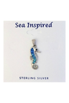 Soap and Water Newport Swarovski Seahorse Necklace - Product List Image