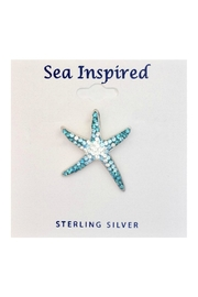Soap and Water Newport Swarovski Seastar Necklace - Front cropped