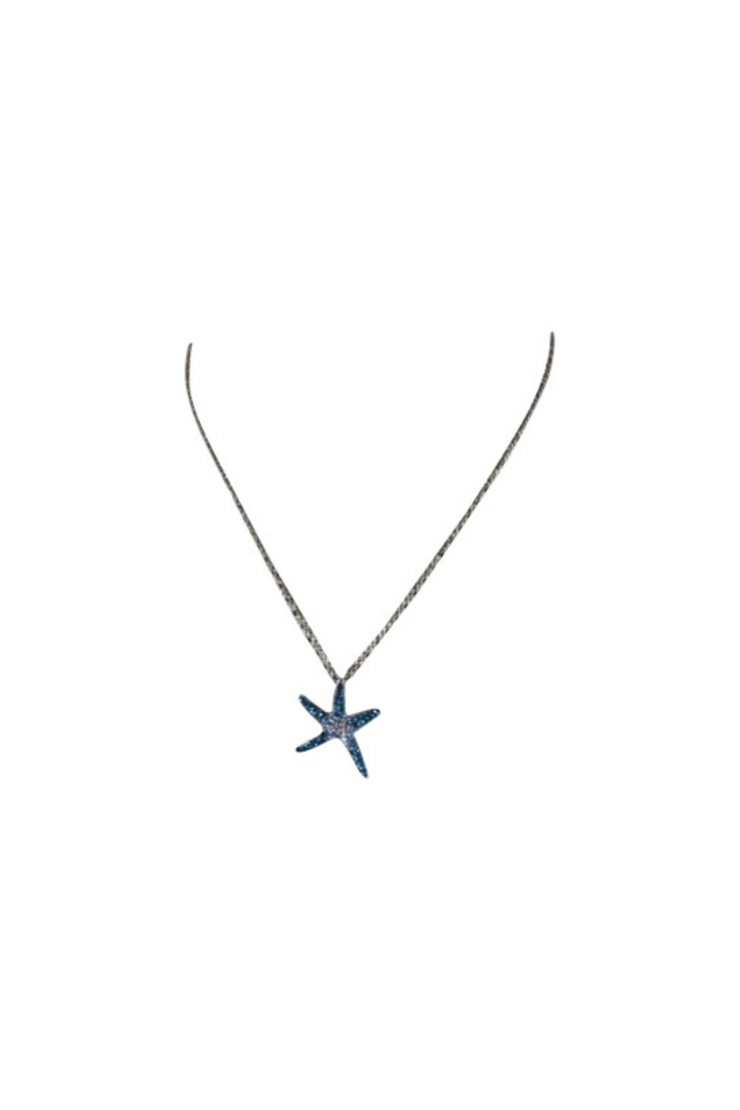Soap and Water Newport Swarovski Seastar Necklace - Front Full Image