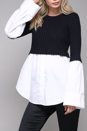 Do & Be Sweater Blouse - Product Mini Image