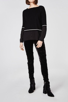 Nicole Miller Sweater Blouse Top - Product List Image
