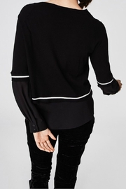 Nicole Miller Sweater Blouse Top - Side cropped