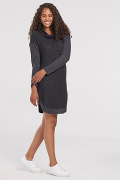 Shoptiques Product: Sweater Cowl dress