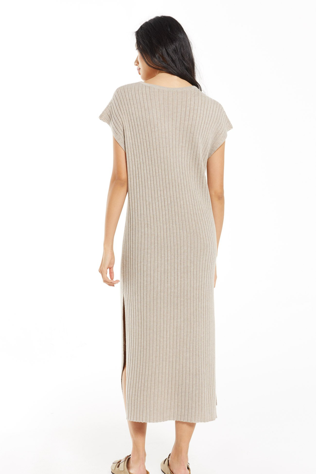 z supply Sweater Dress - Side Cropped Image