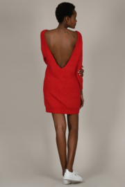 Molly Bracken Sweater dress - Front cropped