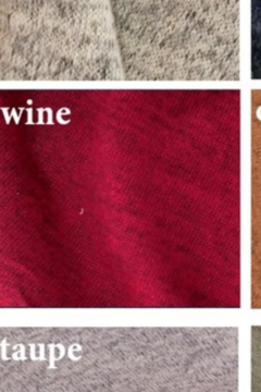 Reborn J Sweater Dress {WINE} - Alternate List Image