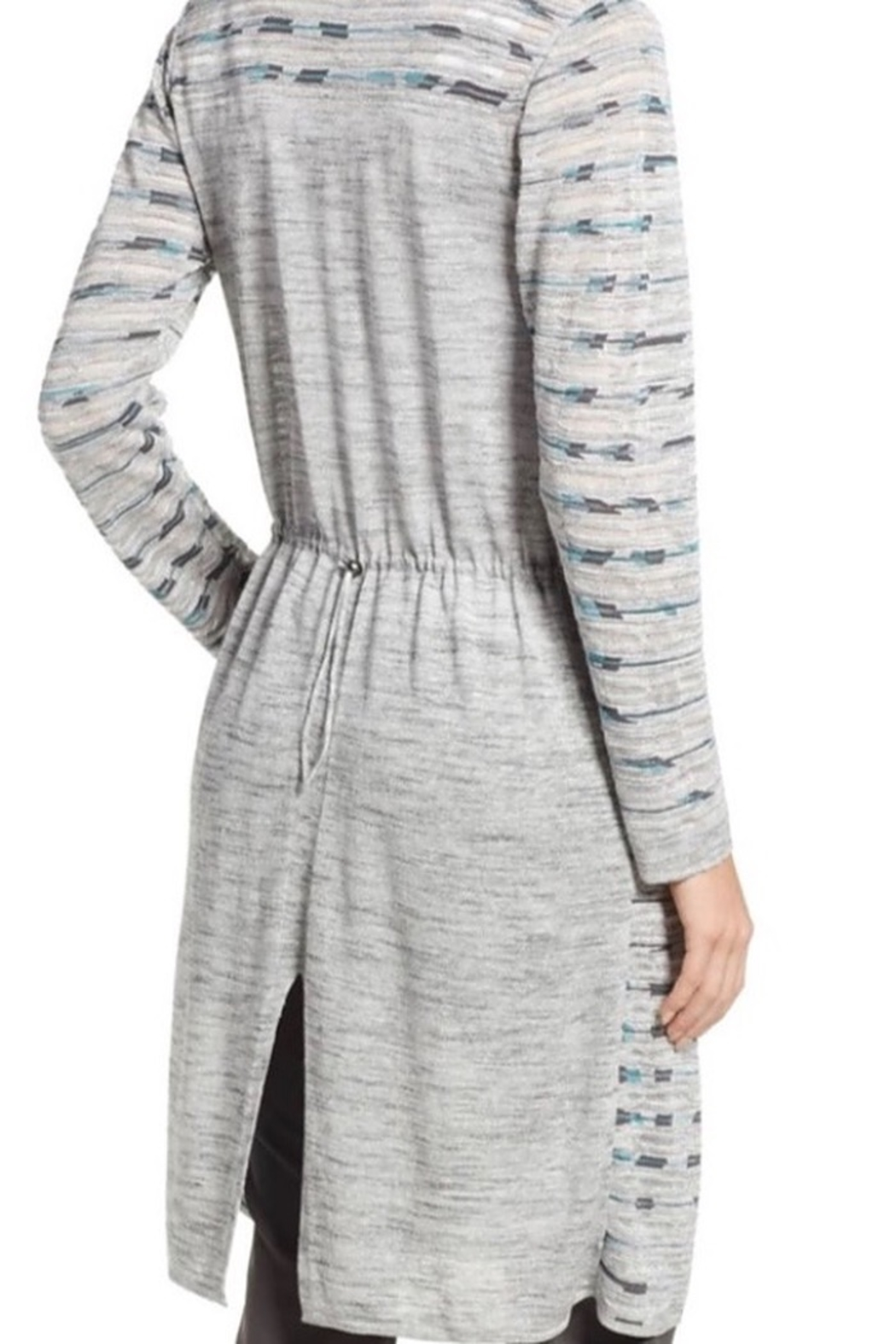 Nic&zoe Sweater duster long sleeve - Front Full Image