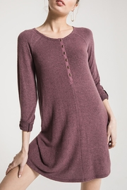 z supply Sweater Henley Dress - Product Mini Image