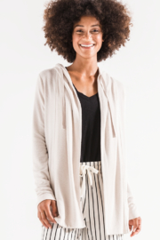 z supply Sweater Knit Cardigan - Front cropped