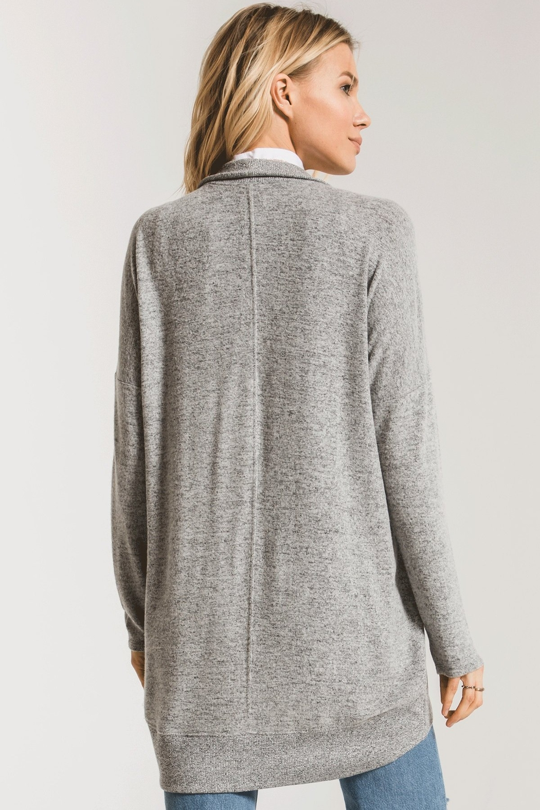 z supply Sweater Knit Cocoon - Front Full Image