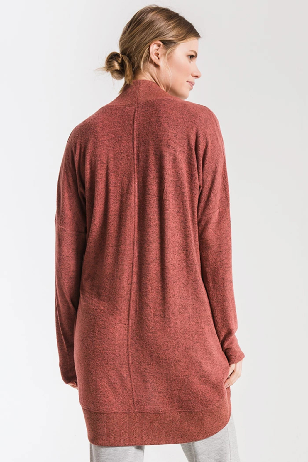 z supply Sweater Knit Cocoon - Side Cropped Image