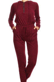 Yarnz Sweater Knit Jumpsuit - Product Mini Image