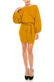 Idem Ditto  Sweater Mini Dress - Product Mini Image