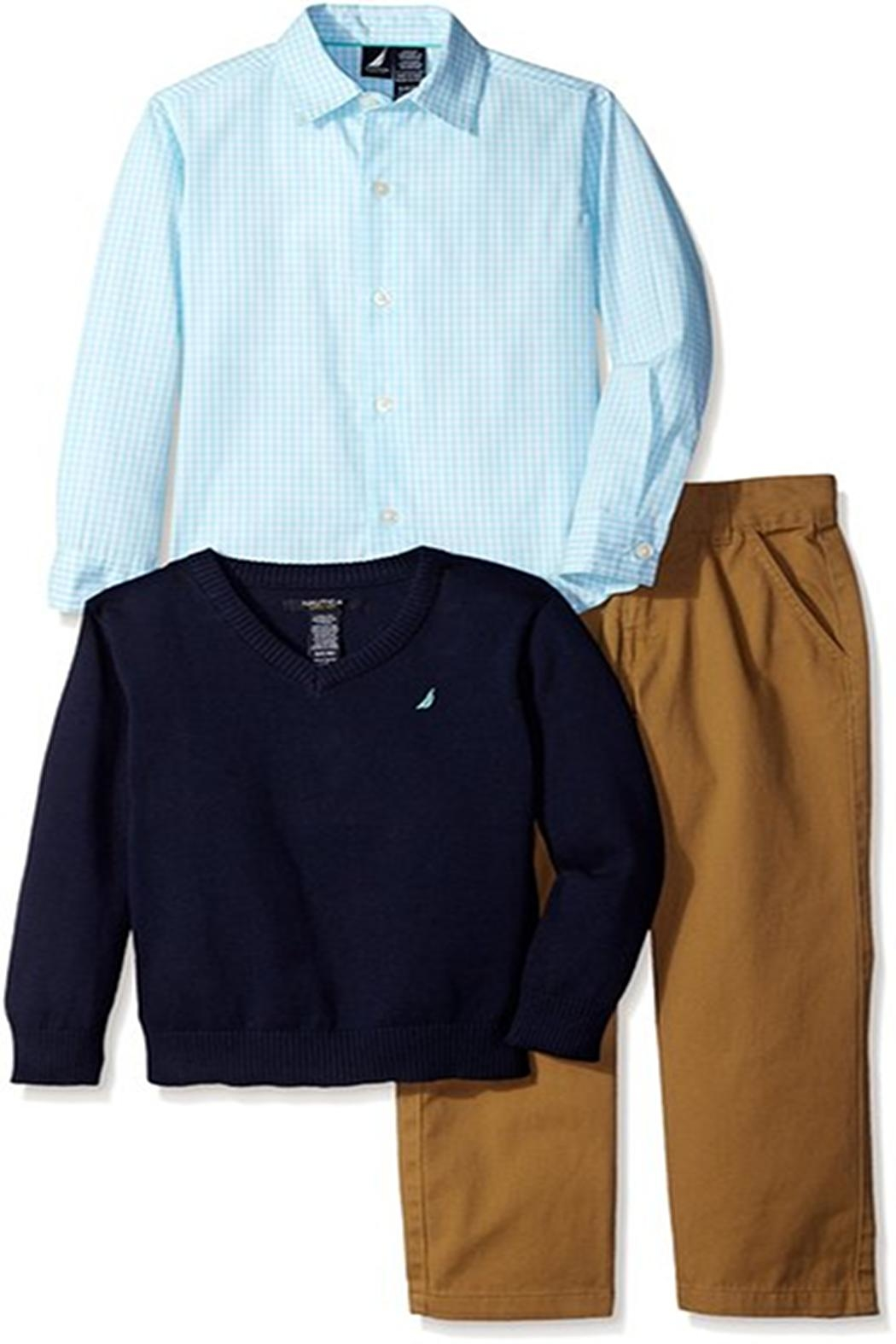 Nautica Sweater & Pants - Main Image