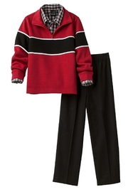 Van Heusen Sweater Pants Set - Front cropped