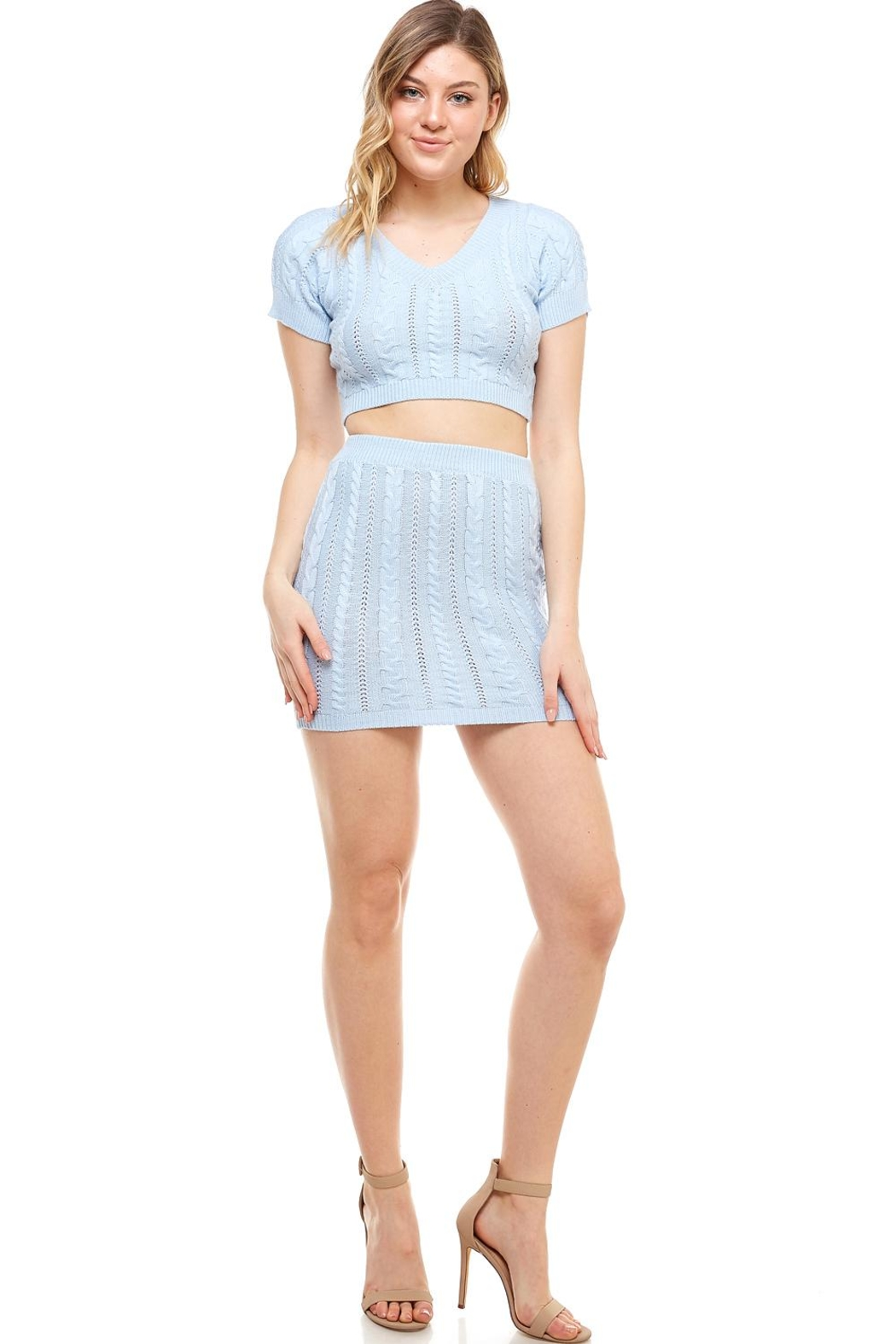 Hot & Delicious Sweater Skirt Set - Main Image