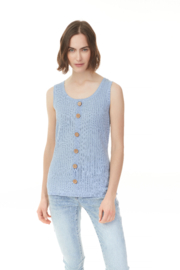 Charlie B Sweater Tank Top - Product Mini Image