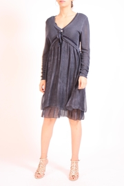 Talk of the Walk Sweater Top Dress - Front cropped