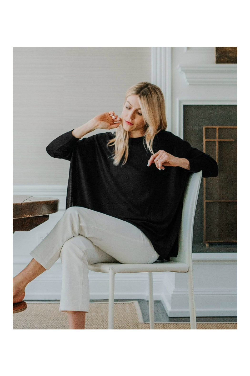 Mer Sea & Co Sweater Travel Wrap - Front Full Image