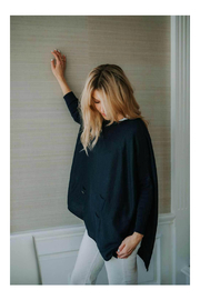 Mer Sea & Co Sweater Travel Wrap - Front full body