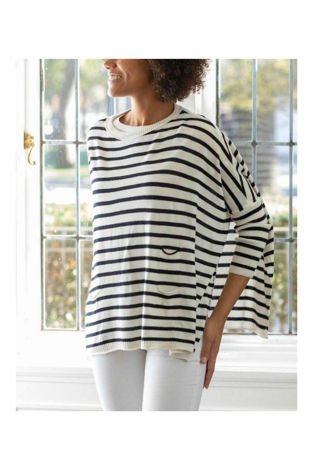 Mer Sea & Co Sweater Travel Wrap - Front Cropped Image