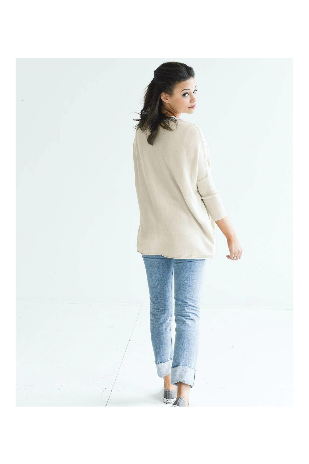 Mer Sea & Co Catalina Sweater - Side Cropped Image