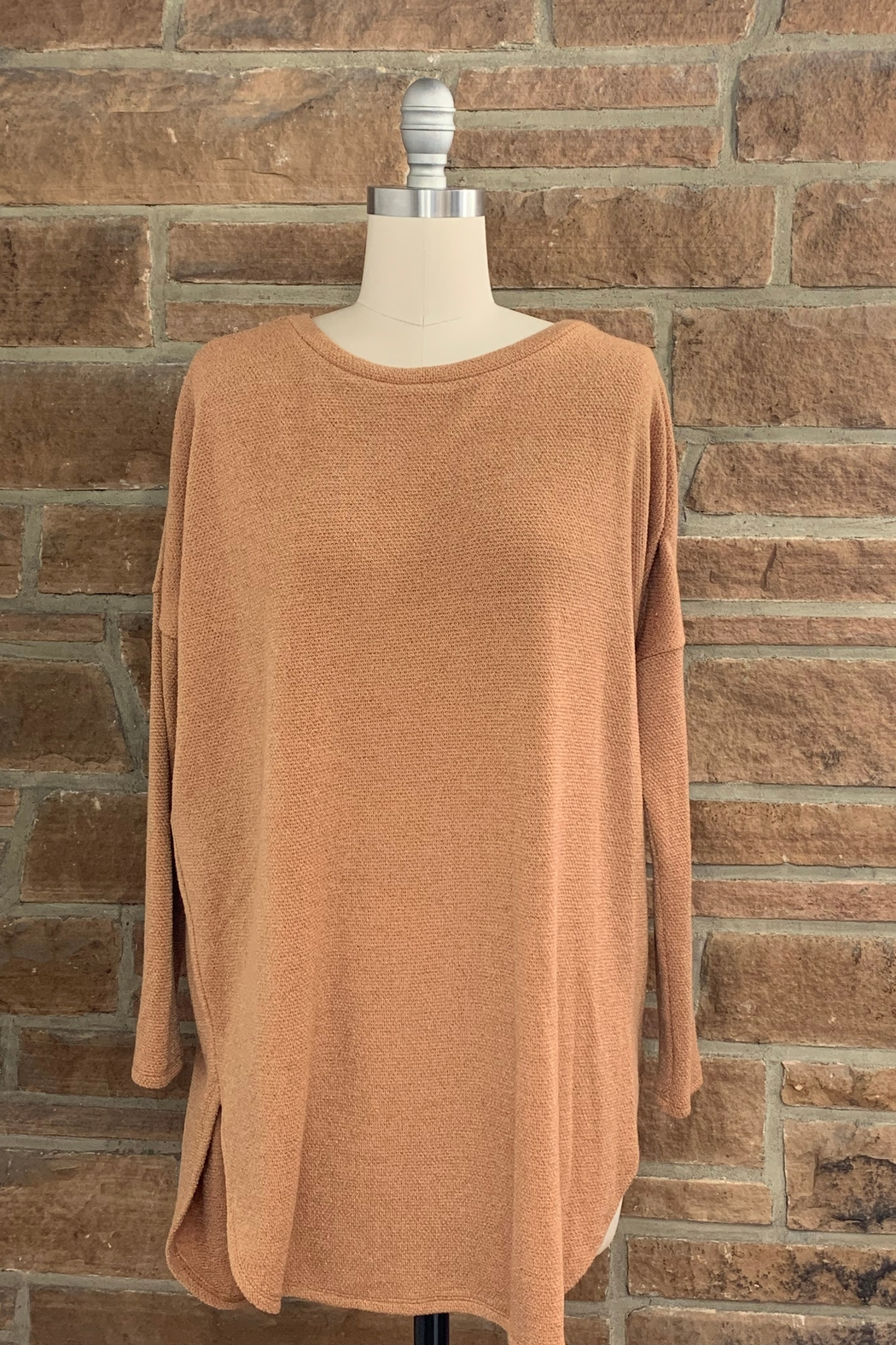 Adrienne Sweater Tunic - Front Cropped Image