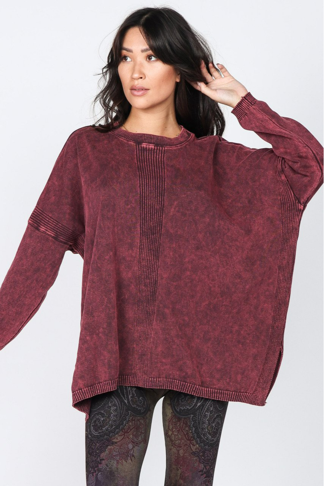 M. Rena  Sweater Tunic - Front Full Image