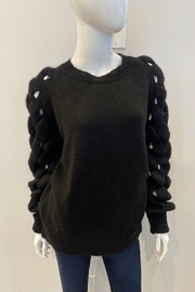 Skovhuus Sweater with Braided Sleeves - Product Mini Image