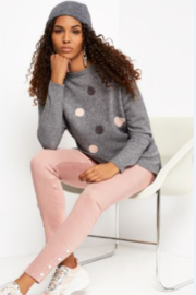 Charlie B. Sweater with Heart Dots - Product Mini Image