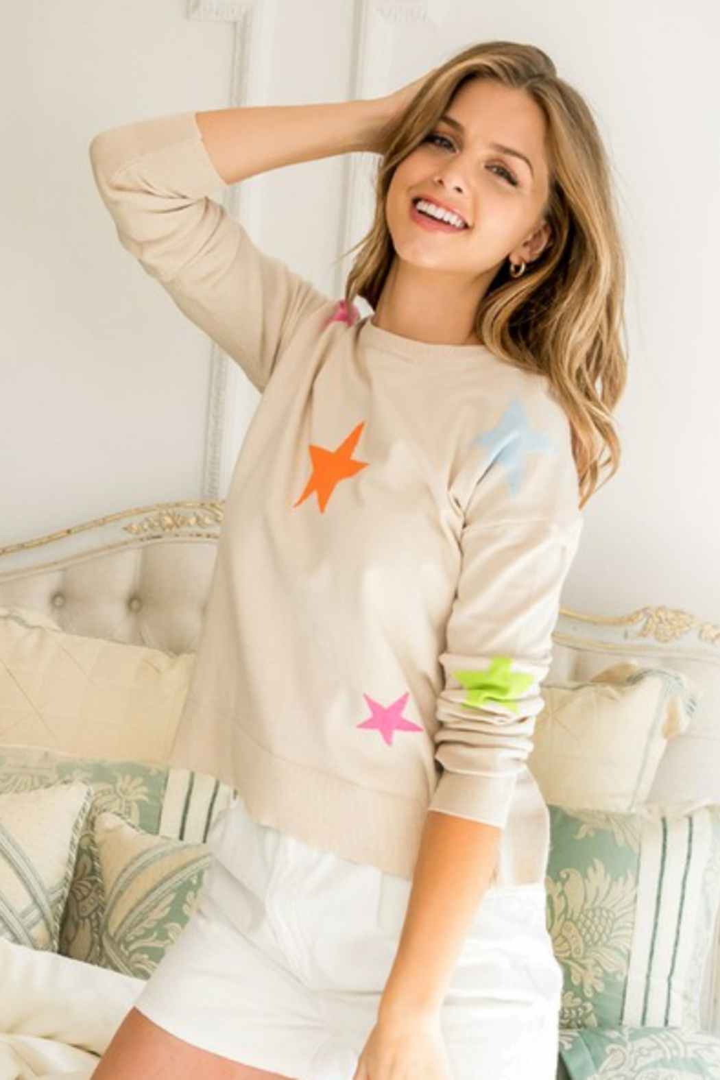 Thml STAR SWEATER - Main Image