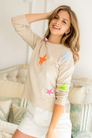 Thml SWEATER WITH STARS - Product Mini Image
