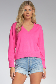 Elan  V-NECK SWEATER - Product Mini Image