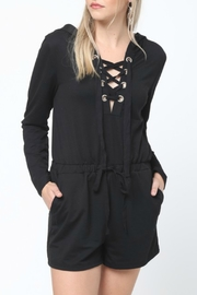 Very J Sweatshirt Romper - Product Mini Image