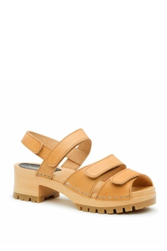 Swedish Hasbeens Velcro Strap Sandal - Alternate List Image