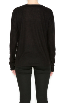 Sweet Claire Comfy Black Sweatshirt - Alternate List Image