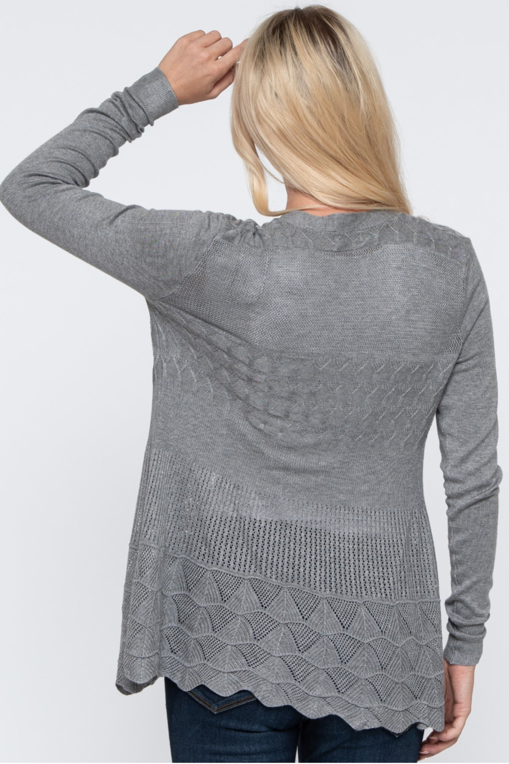Downeast  Sweet & Classy Cardi - Side Cropped Image