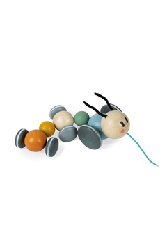 Janod Sweet Cocoon Pull-Along Caterpillar - Product List Image