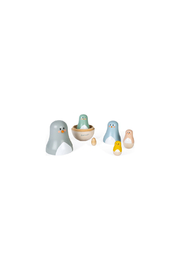Janod Sweet Cocoon Russian Dolls - Front full body