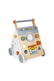 Janod Sweet Cocoon Wooden Multi-Activity Walker - Product Mini Image
