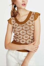 Free People Sweet Daisy Sweater - Product Mini Image