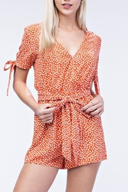 Honey Punch Sweet Dandelion Romper - Front cropped