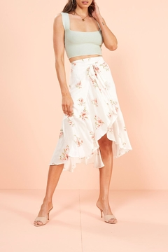 Mink Pink Sweet Delilah Midi-Skirt - Alternate List Image
