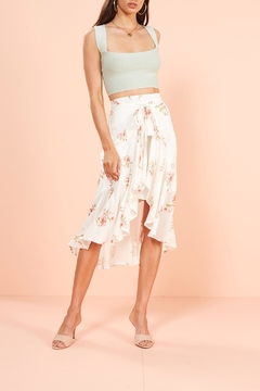 Mink Pink Sweet Delilah Midi-Skirt - Product List Image