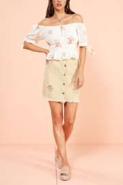 MINK PINK Sweet Delilah Top - Product Mini Image