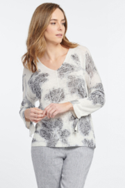 Nic + Zoe Sweet Dove Sweater - Front cropped
