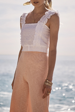 SAGE THE LABEL Sweet Escape Eyelet Top - Alternate List Image