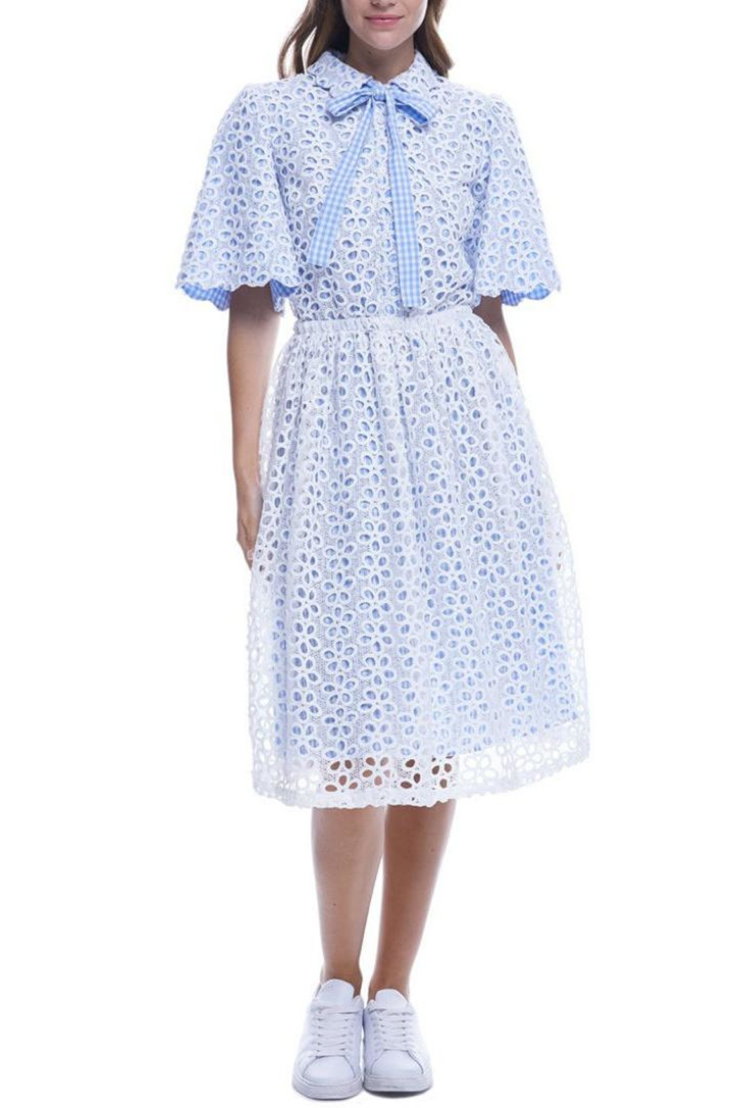 f0237f5e38b7fd English Factory Sweet Eyelet Dress from Brooklyn by Glam Expressway ...